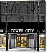 Tower City In Cleveland Ohio Canvas Print