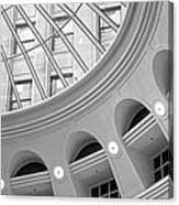 Tower City Rotunda Canvas Print