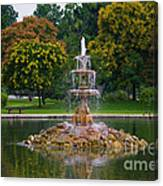 Tower Grove Fountain Canvas Print