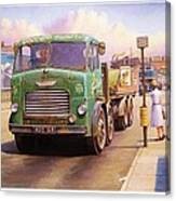 Tower Hill Transport. Canvas Print