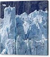 Tower In Margerie Glacier Canvas Print