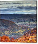 Tower In The Distance Canvas Print