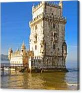 Tower Of Belem Canvas Print