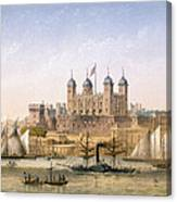 Tower Of London, 1862 Canvas Print
