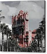 Tower Of Terror  In Color Canvas Print