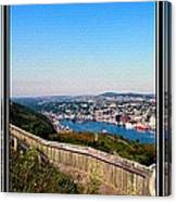 Tower Over The City Triptych Canvas Print