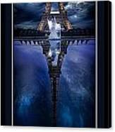 Tower Reflexion Canvas Print