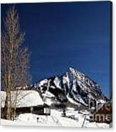 Towering Above Crested Butte Canvas Print