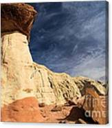 Towering Above The Landscape Canvas Print