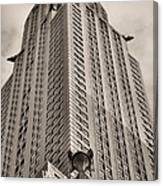 Towering Bw Canvas Print