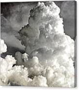 Towering Clouds Canvas Print