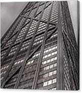 Towering John Handcock Building Canvas Print