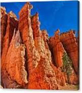 Towering Pinnacles Canvas Print