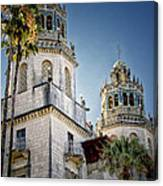 Towers At Hearst Castle - California Canvas Print