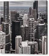 Towers Of Chicago Canvas Print