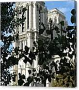 Towers Of Notre Dame Canvas Print