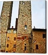 Towers Of San Gimignano Canvas Print
