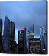Towers Of Singapore Canvas Print