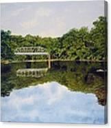 Town Bridge Canvas Print