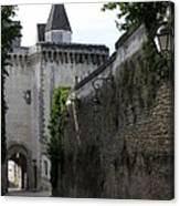 Town Gate - Loches - France Canvas Print