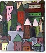 Town Canvas Print