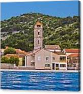 Town Of Tisno Waterfront Croatia Canvas Print
