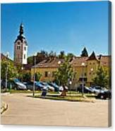 Town Of Vrbovec In Croatia Canvas Print