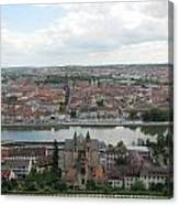 Town Of Wurzburg Canvas Print