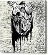 Toxic Love Canvas Print
