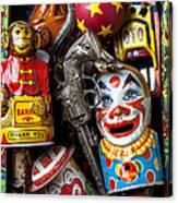 Toy Box Canvas Print