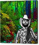 Toy Caldwell In The Woods Canvas Print
