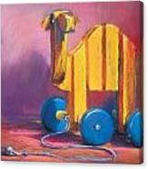 Toy Camel Canvas Print