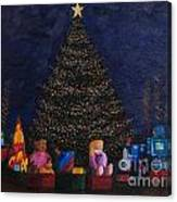 Christmas Toys Canvas Print