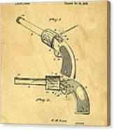 Toy Pistol Circa 1920s Canvas Print