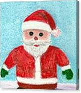 Toy Santa Canvas Print