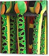 Toy Snakes Canvas Print