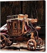 Toy Stagecoach Canvas Print