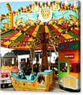 Toy Town Carousel  Canvas Print