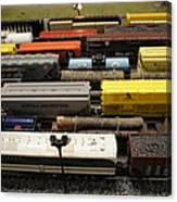 Toy Trains Canvas Print