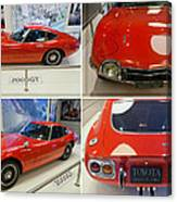 Toyota 2000 Gt Canvas Print