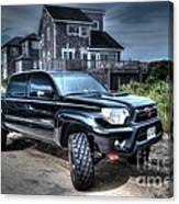 Toyota Tacoma Trd Truck Canvas Print