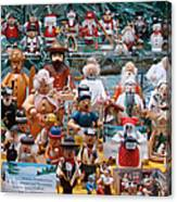 Toys And Nutcrackers For Sale Canvas Print