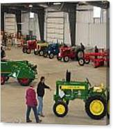 Mecum Tractor Auction Canvas Print