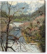 Traces Of Autumn Canvas Print