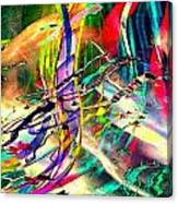 Tracings5 Canvas Print