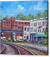Tracks by the Wedge Brewery Canvas Print