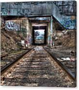 Tracks To Nowhere Canvas Print