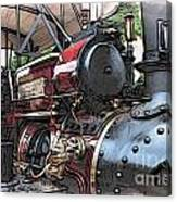 Traction Engine 2 Canvas Print