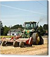 Tractor Power Canvas Print