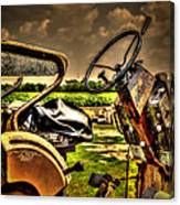 Tractor Seat Canvas Print